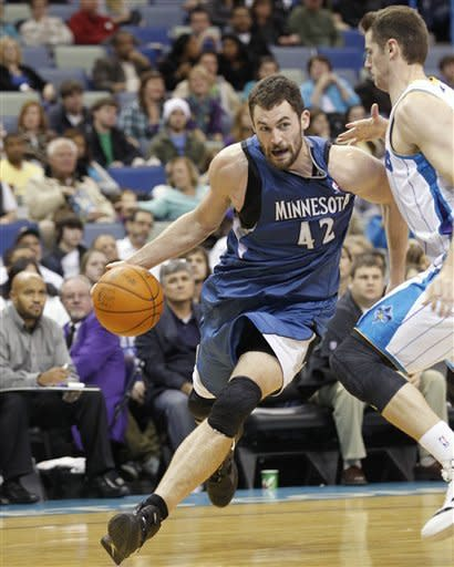 Wolves beat Hornets in Rubio's first start
