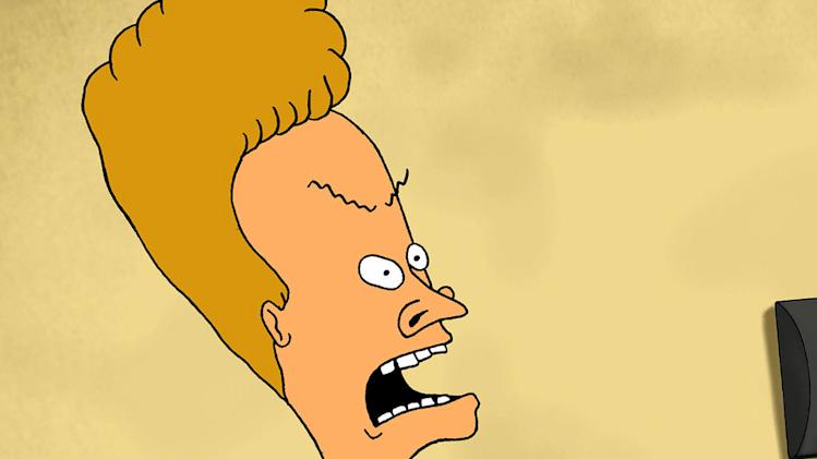 "Beavis in ""Beavis and Butt-head."""