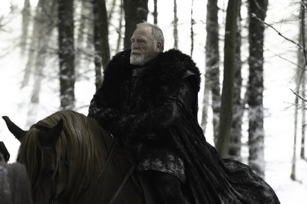 "James Cosmo stars as Lord Commander Mormont in ""Game of Thrones."""