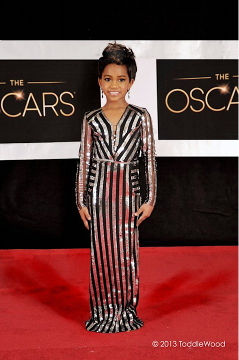 Oscars turned toddler-sized - Halle Berry