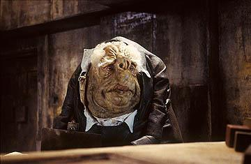 A Vogon in Touchstone Pictures' The Hitchhiker's Guide to the Galaxy