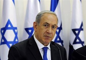 Israel's PM Netanyahu heads a special cabinet meeting in Sde Boker