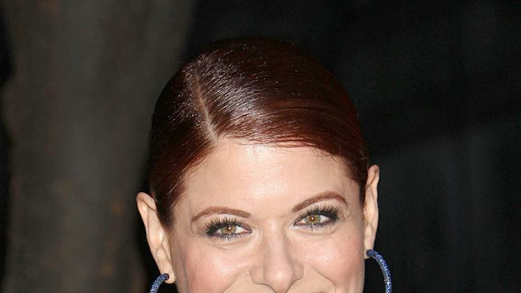 Tribeca Film Festival Vanity Fair Party 2009 Debra Messing
