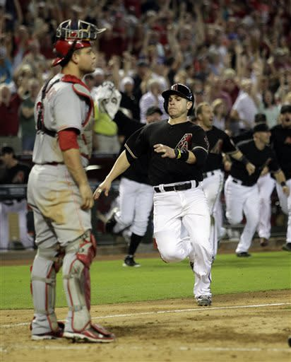 Diamondbacks rally against Chapman, beat Reds 4-3