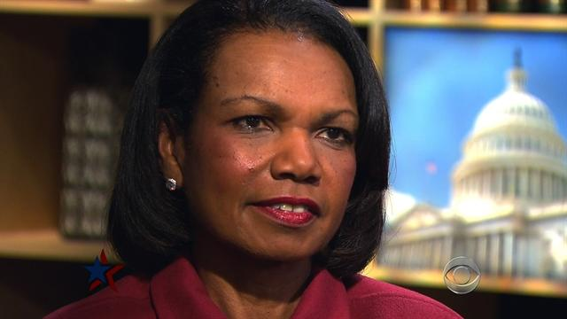 Condoleeza Rice on Obama's second term