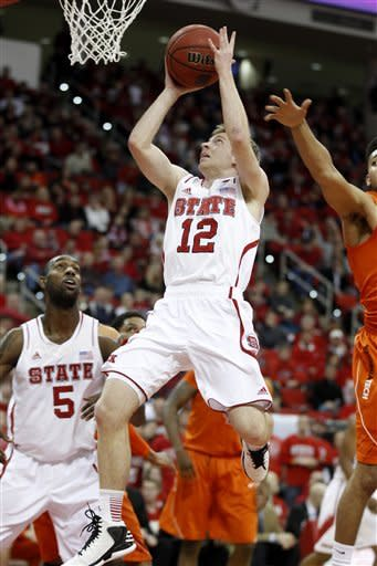 Wood, Brown lead NC State past Va Tech 90-86 in OT