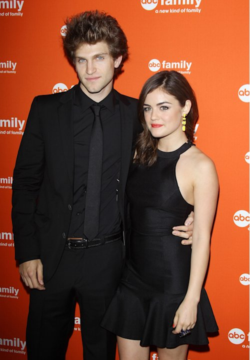 Keegan Allen and Lucy Hal …
