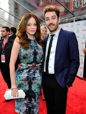 Rose McGowan and Davey Detail -- Getty Images
