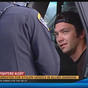 Man arrested for stolen vehicle in Allied Gardens 5:00 p.m.