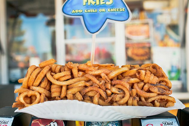 Log of Curly Fries