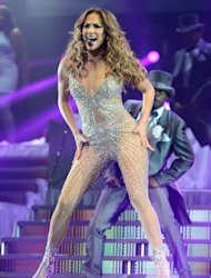 Jennifer Lopez performs at Bell Centre in Montreal, Canada on July 14, 2012  -- Getty Images