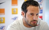 Sharks fly-half Frederic Michalak, pictured in 2009, will make his first start for France in almost five years in Saturday's clash against Argentina