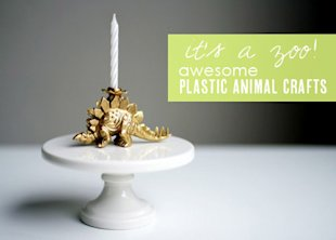 7 Plastic Animal Crafts