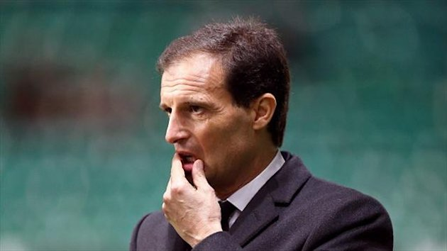 Massimiliano Allegri had been due to leave AC Milan at the end of the season