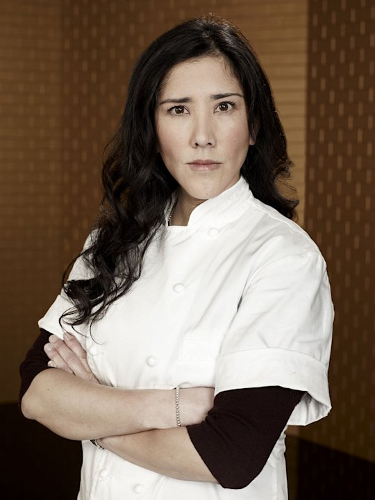 "Celina Tio competes in ""Top Chef Masters."""