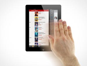 iPad multitouch gestures