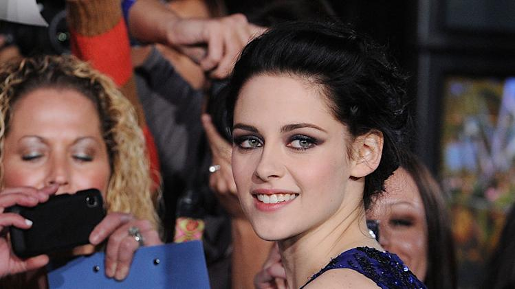 The Twilight Saga Breaking Dawn LA Premiere 2011 Kristen Stewart