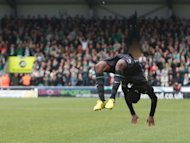 Efe Ambrose did a series of back flips after scoring for Celtic