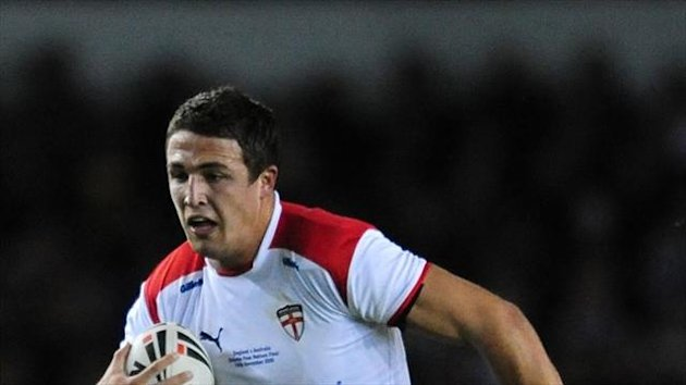 Sam Burgess, pictured, is switching codes to join Bath