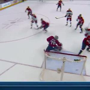 Jiri Tlusty rips backhander past Holtby