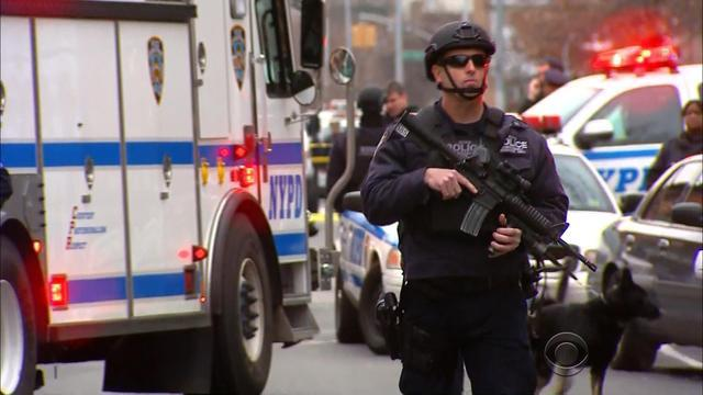 Two New York policemen 'assassinated'