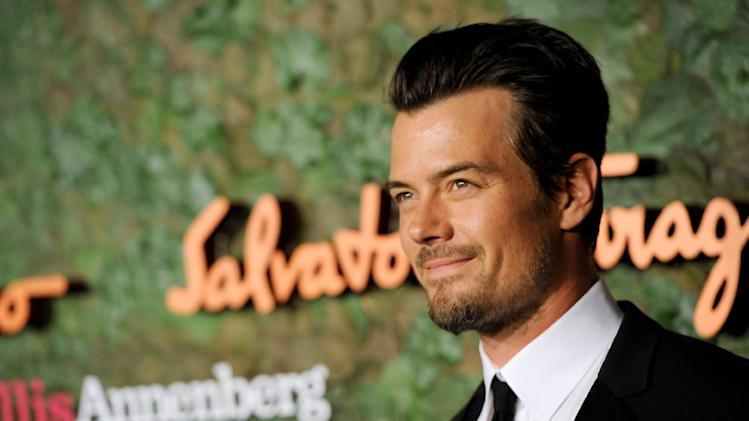 Actor Josh Duhamel arrives at the Wallis Annenberg Center for the Performing Arts Inaugural Gala on Thursday, Oct. 17, 2013, in Beverly Hills, Calif. (Photo by Chris Pizzello/Invision/AP)