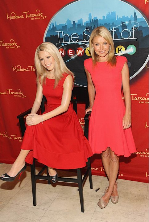 Kelly Ripa Madame Tussauds