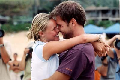 Kate Bosworth and Matthew Davis in Universal's Blue Crush