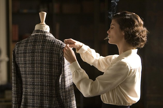 Coco before Chanel Production Photos 2009 Sony Picture Classics 2009 Audrey Tautou