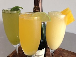 Mimosa three ways