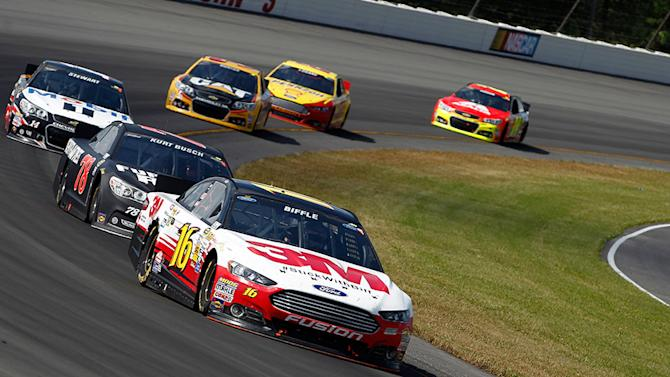 In the Rearview: Making up points in Pocono