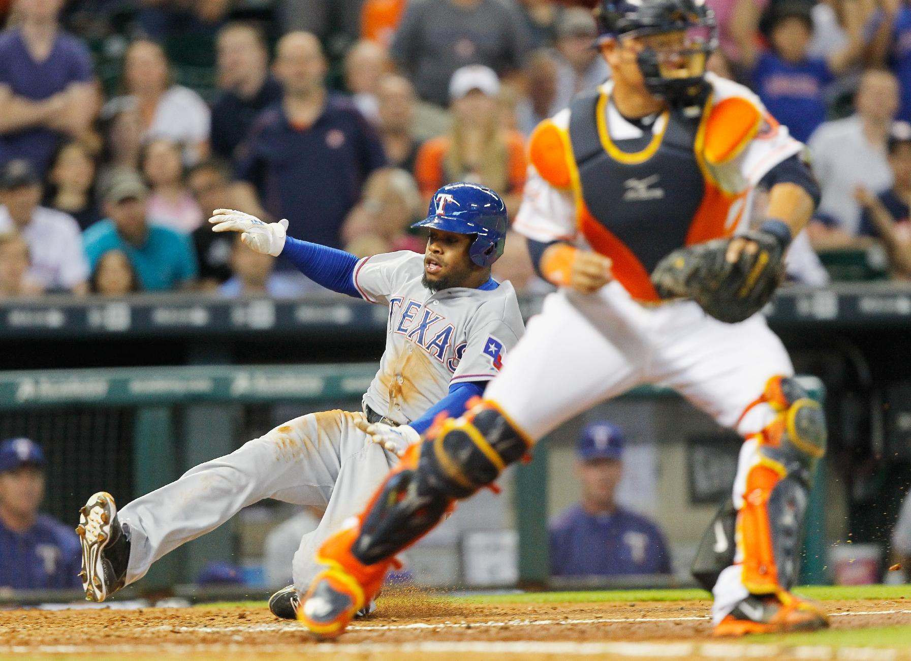 The dream is over: Astros' 10-game winning streak snapped by Rangers