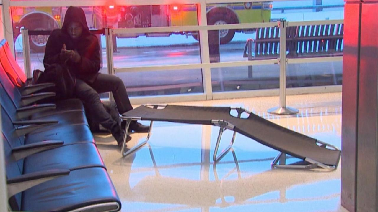 Winter Weather Leads to Delays, Canceled Flights