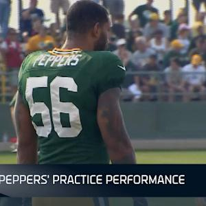 NFL NOW: Julius Pepper's transition with Green Bay Packers