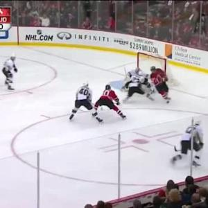 Marc-Andre Fleury Save on Peter Harrold (06:39/1st)