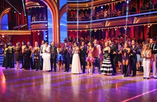 The cast during Week 3 of &#39;Dancing With The Stars: All-Stars,&#39; Oct. 8, 2012 -- ABC