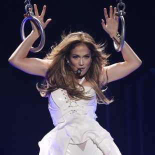 Jennifer Lopez performs during the Season 12 finale of &quot;American Idol&quot; in Los Angeles
