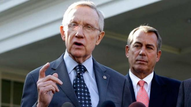 House Speaker John Boehner and Senate Majority Leader Harry Reid: Not exactly BFF.