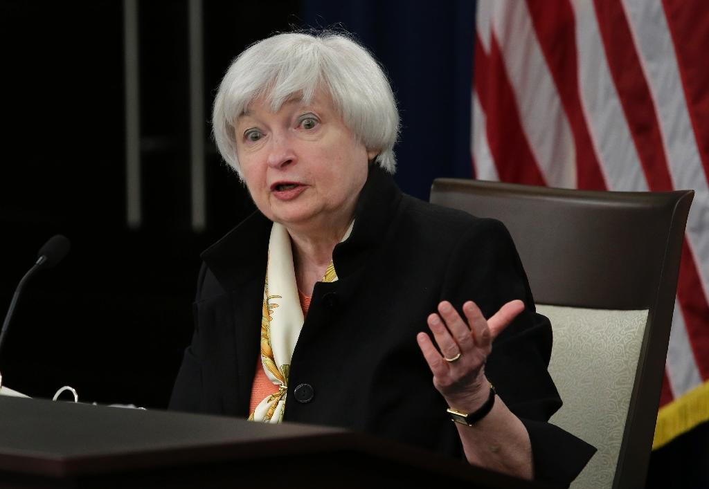 Case for rate hike strengthening, Yellen says