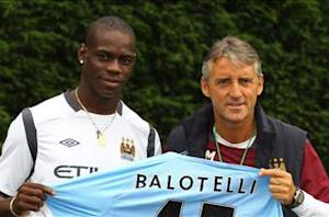 Balotelli can be as good as Messi and Ronaldo, insists Mancini