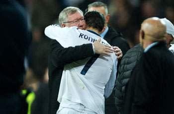Cristiano Ronaldo pays tribute to Sir Alex