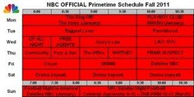 First Speculative NBC Schedule …
