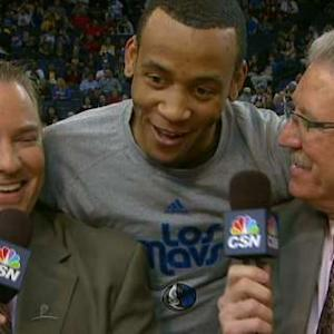 Monta Ellis Shows Love