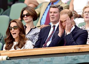 Kate Middleton Makes Hilarious Faces at Wimbledon Championships With Prince William: Pictures