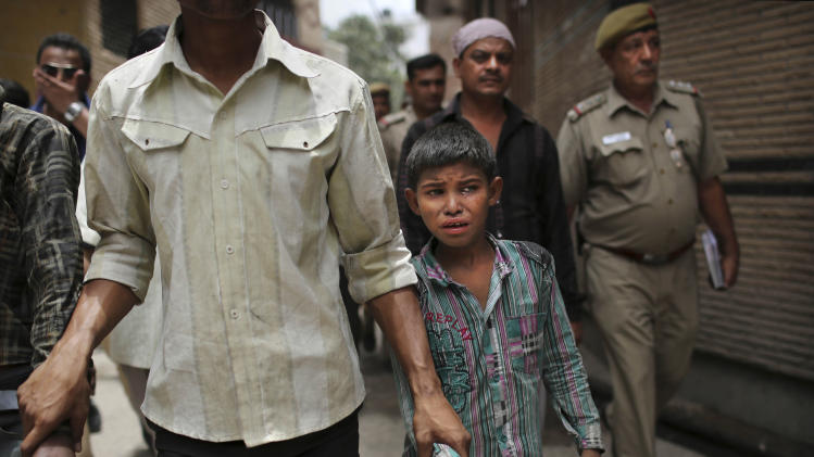 Factory raids reveal child labor persists in India