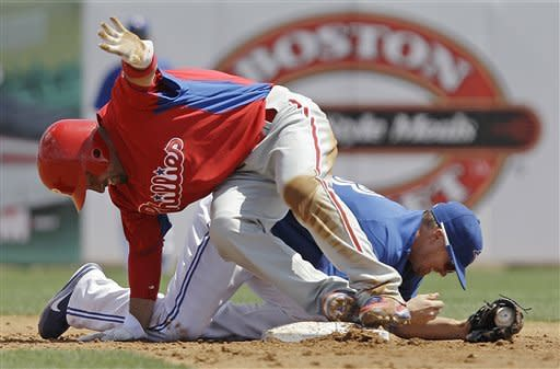 Bautista homers as Blue Jays beat Phillies 10-2