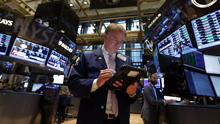 Stocks drop as investors fret over budget fight