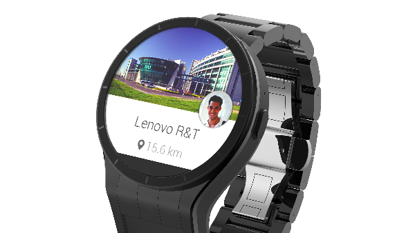 Lenovo Magic View Smartwatch Has Second Virtual Display
