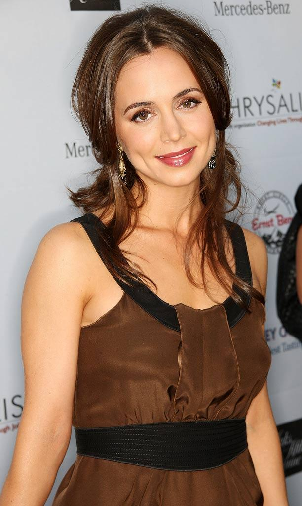 Eliza Dushku attends the Seventh Annual Crysalis Butterfly Ball on May 31, 2008 in Brentwood, California.
