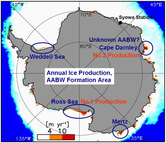 New Source Found For Cold, Deep Antarctic Currents